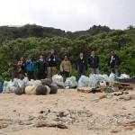 保良漁港清掃完了