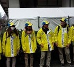 東京マラソン2014奉仕