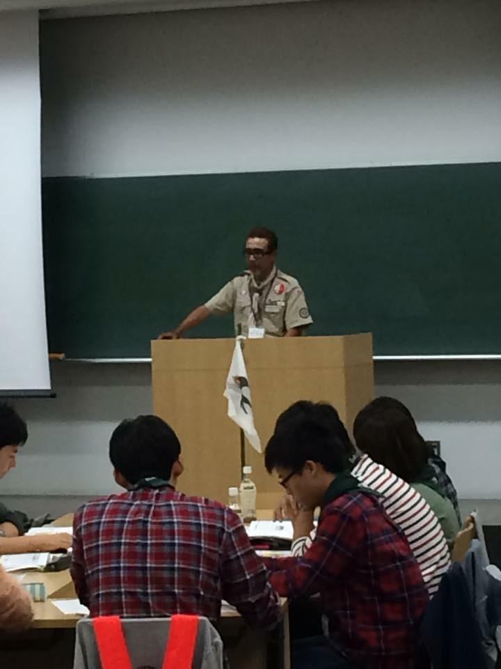 ボーイスカウト講習会②