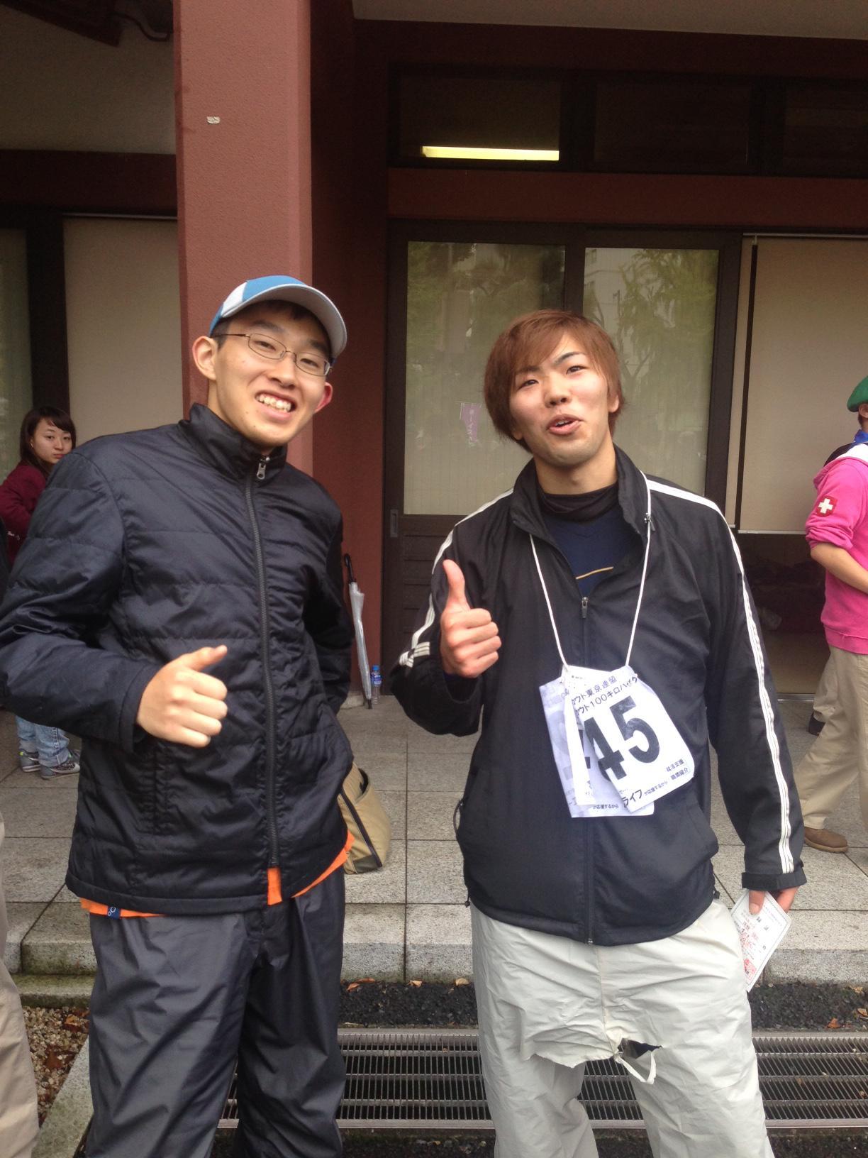 第49回東京連盟ローバースカウト100キロハイク