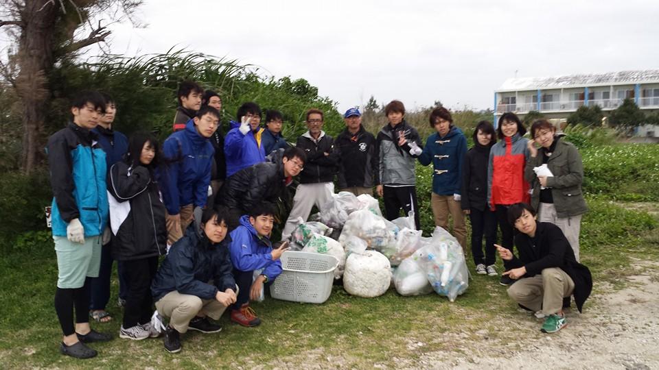 佐和田の浜 清掃活動