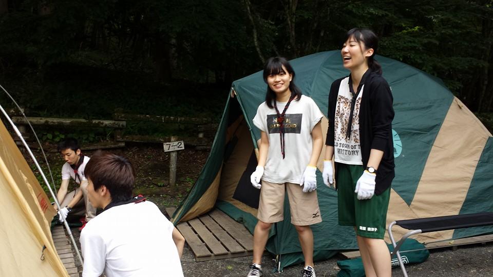 新入部員歓迎キャンプ①