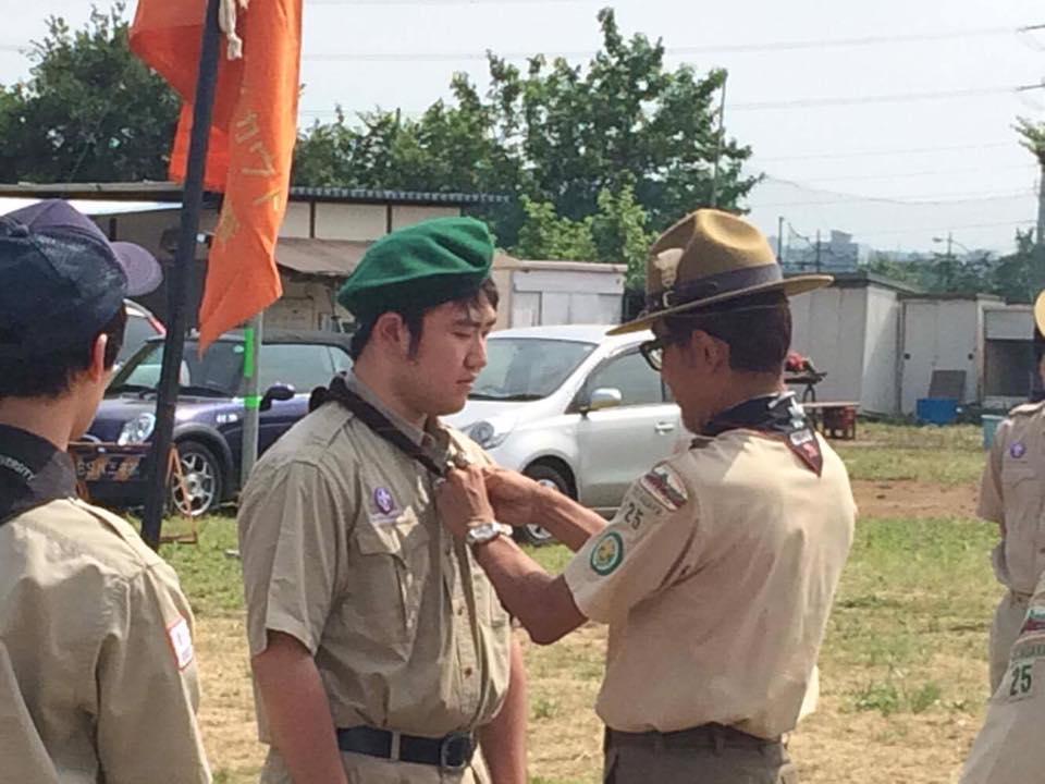 トレーニングキャンプ 入団式